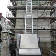 Beispiel für den Einsatz eines Aufzuges